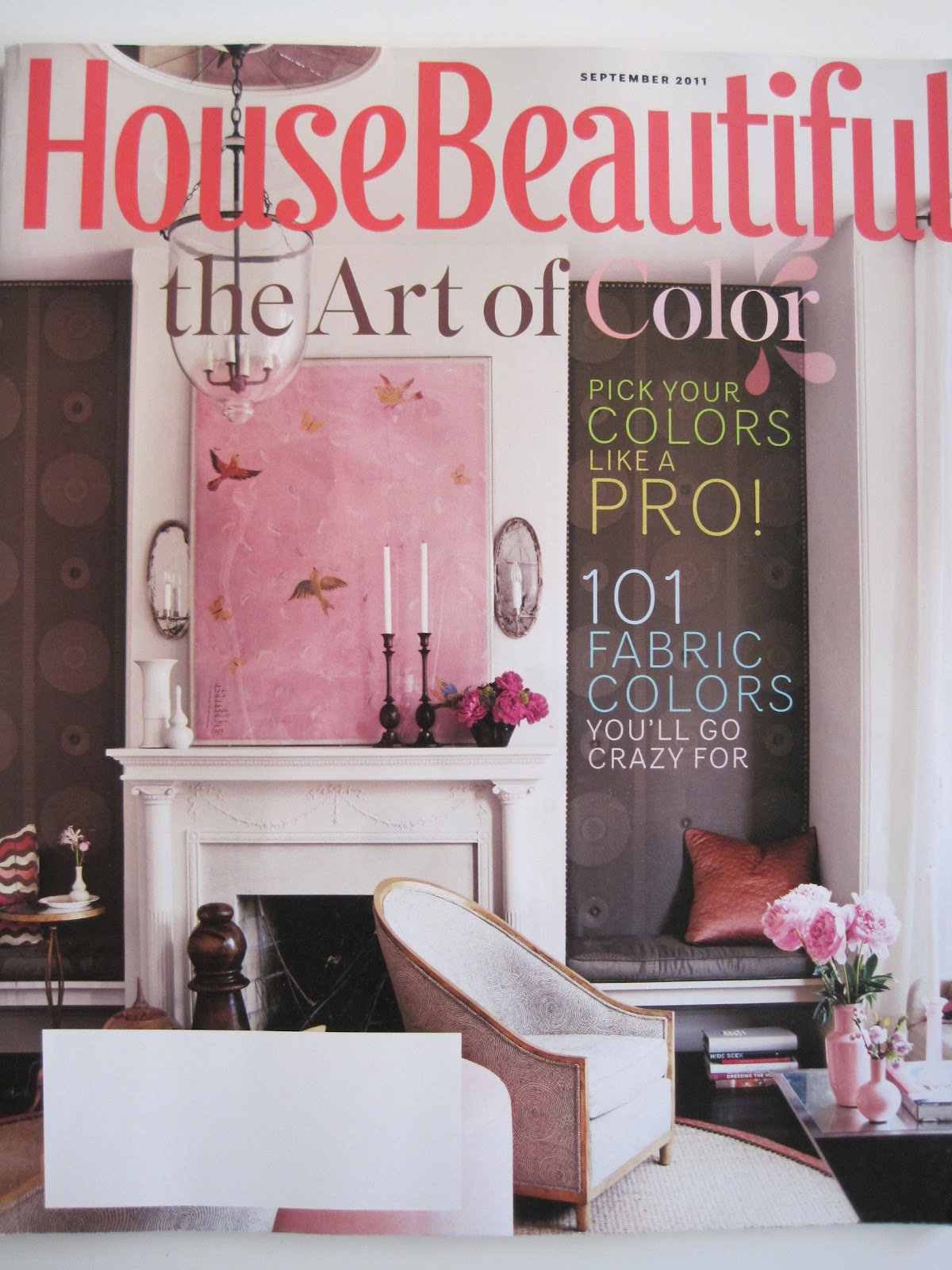 "Pink! Paule Marrot and That Pink ""House Beautiful"" Magazine Cover ..."